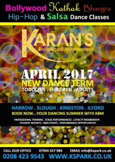 April 2017 NEW Dance Classes