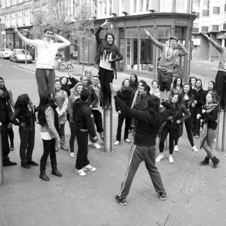 KSPARK Bollywood choreography