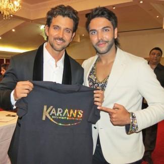Karan Pangali & Bang Bang star Hrithik Roshan