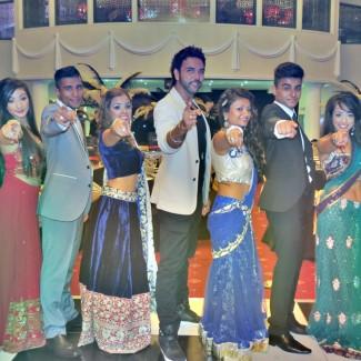 Karan Pangali and KBM Revolution Bollywood Dancers