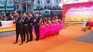 Second Best Exotic Marigold Hotel World Premiere