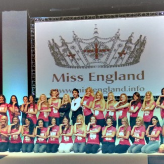Karan Pangali choreographs the Miss England Finals