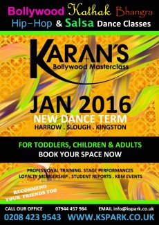 January 2016 New Dance Classes