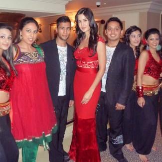 KBM Revolution students with Katrina Kaif
