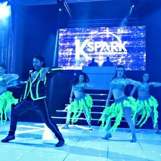 Karan Pangali and the KSPARK Bollywood Dancers