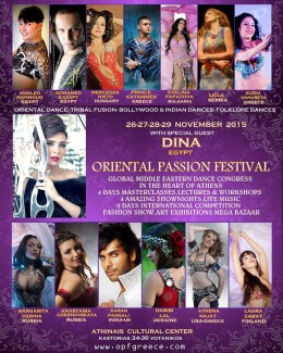 Karan Pangali returns to Oriental Passion Festival in Greece