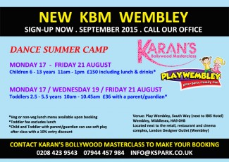 Summer Dance Camp with KBM