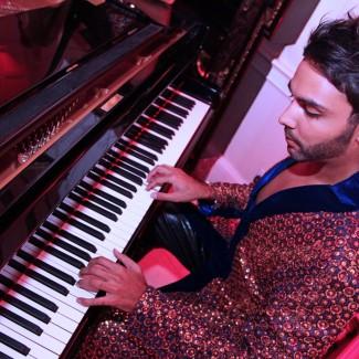 """I can never resist a Piano when I see one"" - Karan Pangali"