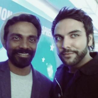 Bollywood director Remo D'souza & Karan Pangali