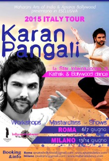 KBM Bollywood dance workshops in Italy