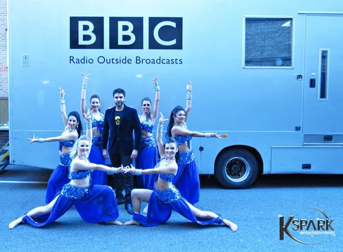Karan Pangali BBC Asian Network Live