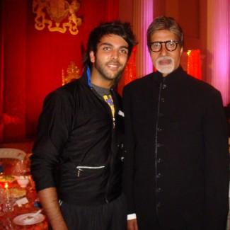 Karan Pangali & Bollywood legend Amitabh Bachchan