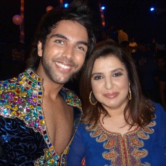 Karan Pangali & Bollywood director Farah Khan