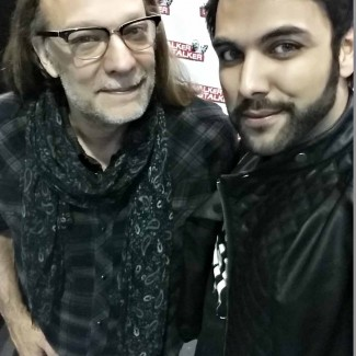 Oscar-winning Greg Nicotero with Karan Pangali