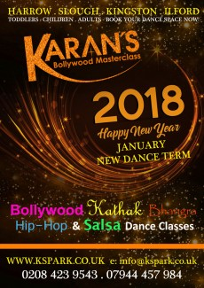 January 2018, New Year Dance Classes