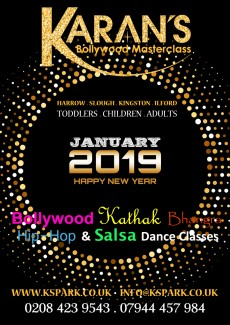 New January 2019 Bollywood Dance Classes