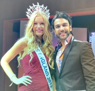 Karan Pangali & Miss England