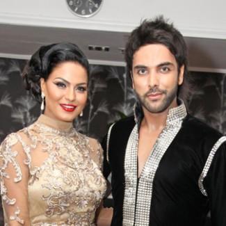 Karan and Veena Malik