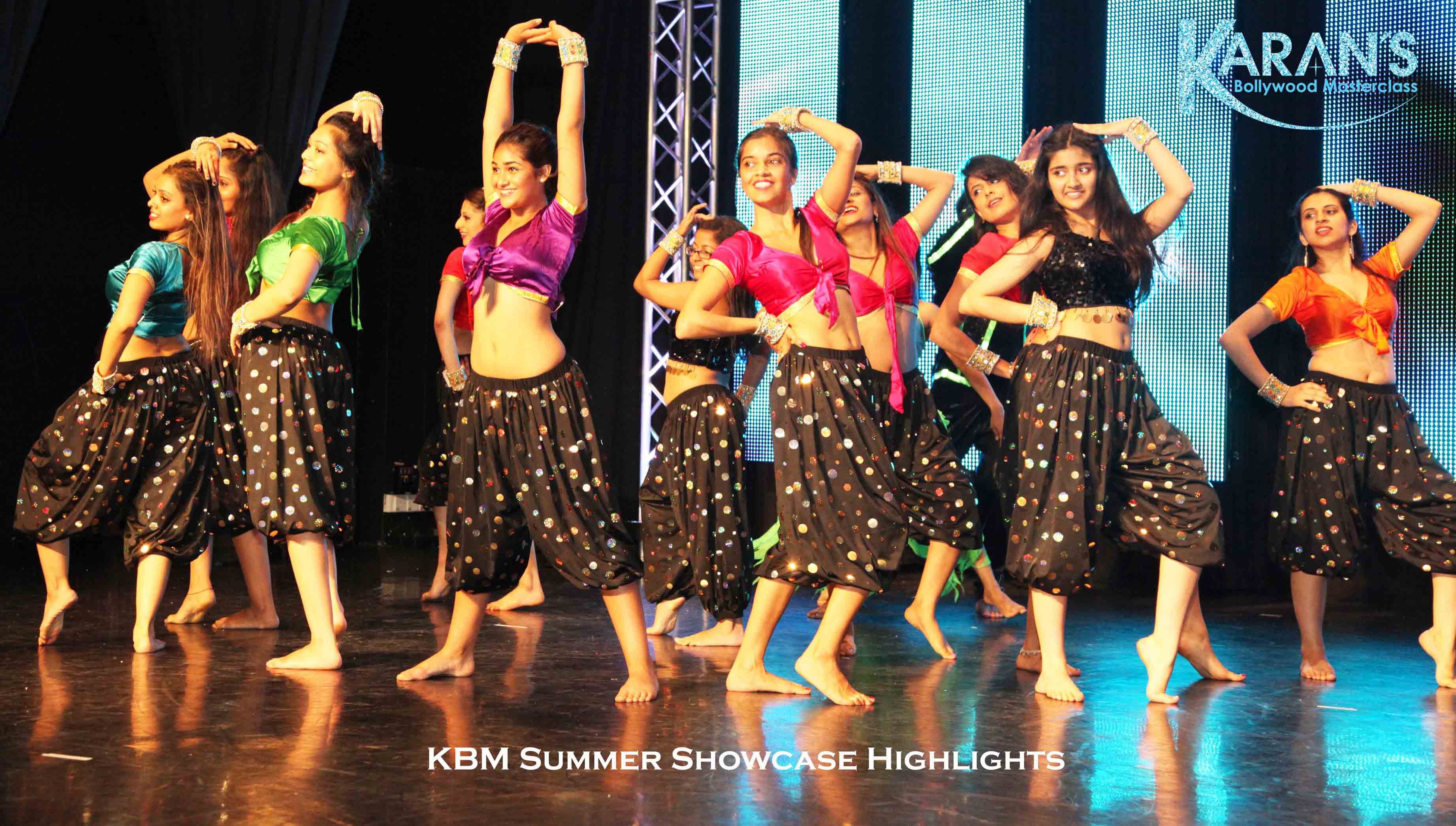Karan's Bollywood Masterclass Revolution Dancers