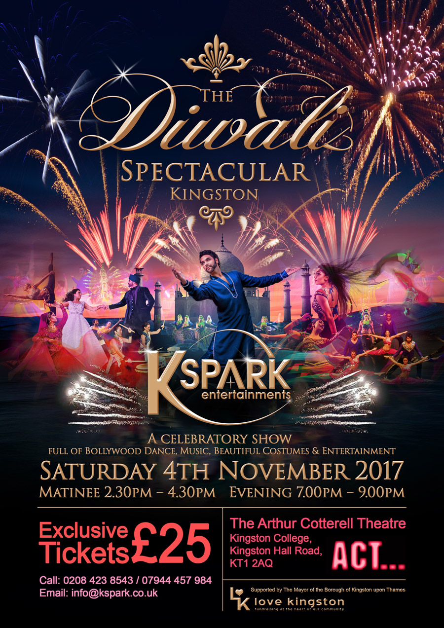 KSPARK Kingston DIWALI website