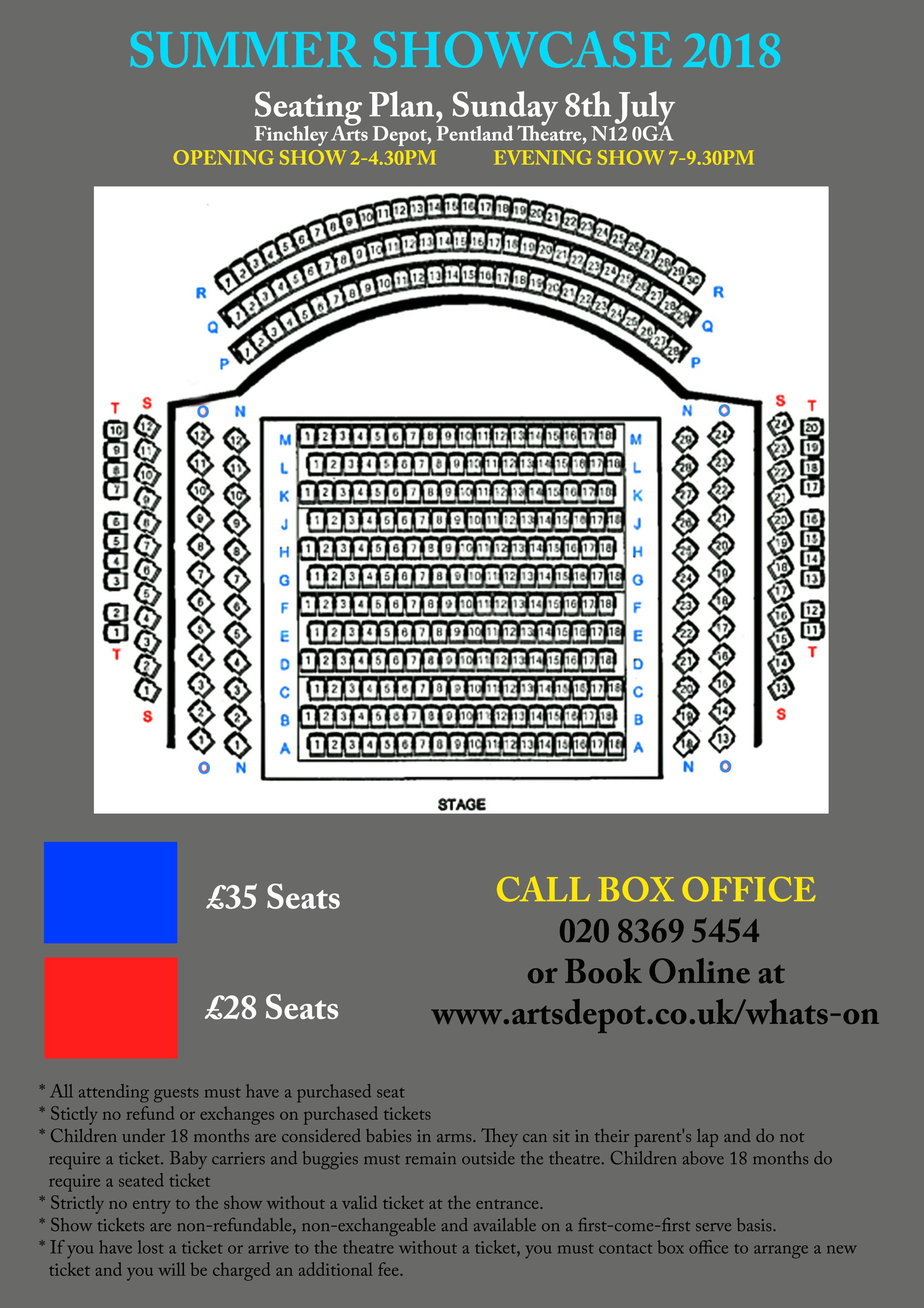 Seating Plan 2018