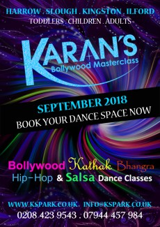 New Dance Classes start September 2018