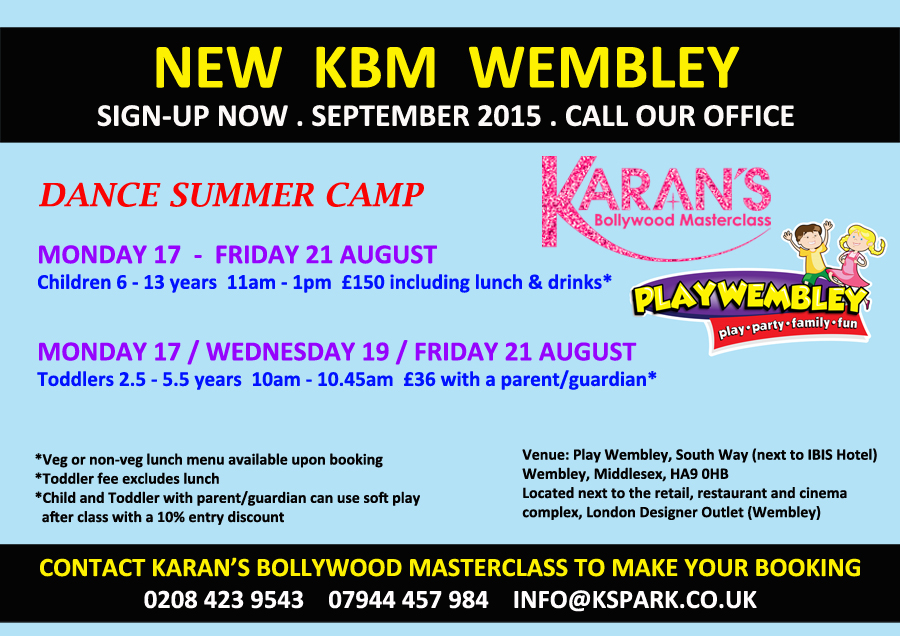 Summer Camp Wembley 2015