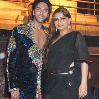 Karan Pangali & Bollywood choreographer Vaibhavi Merchant
